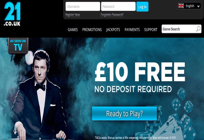 Fortuin Casino Home Page