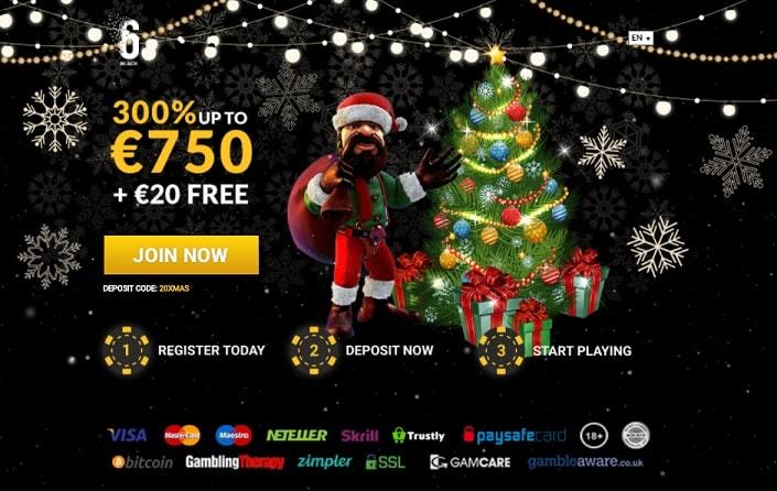 6Black Casino Promotion