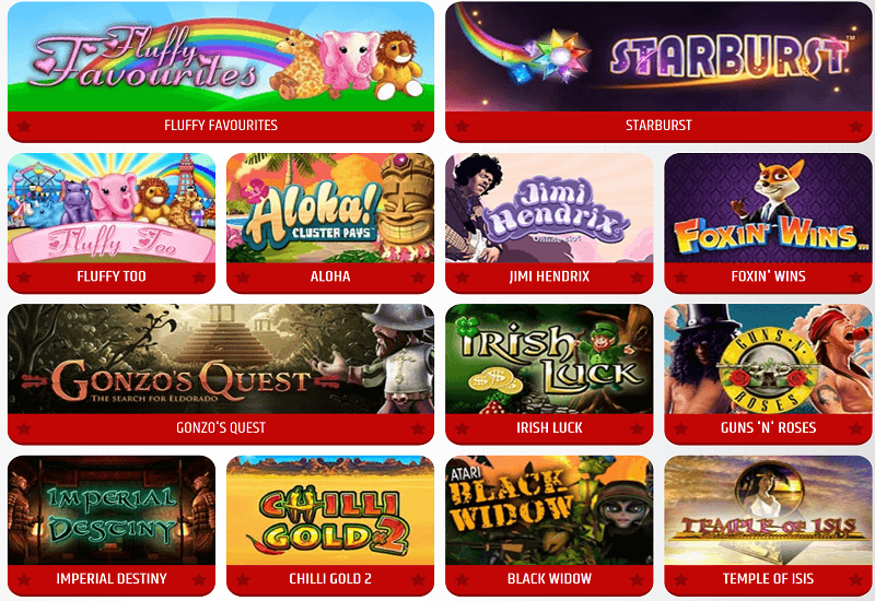 All Star Games Casino Video Slots