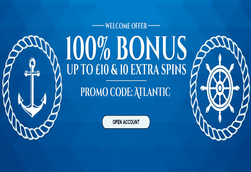 Atlantic Spins Casino Home Page