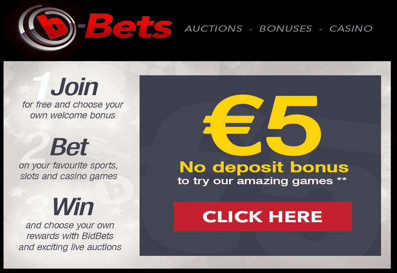 b-Bets Casino Bonus