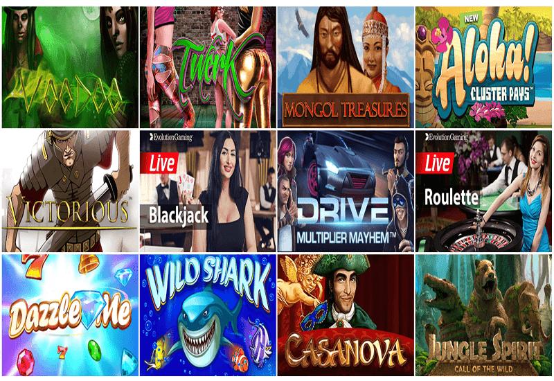 BOB Casino Video Slots