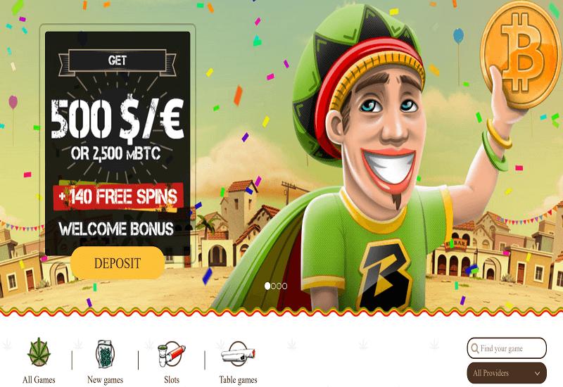 BOB Casino Home Page