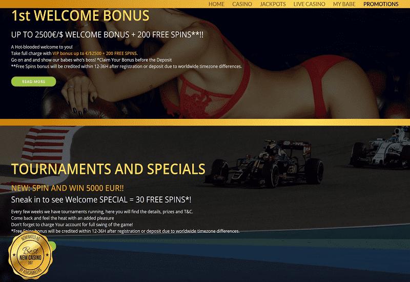 Bebe Casino Promotion
