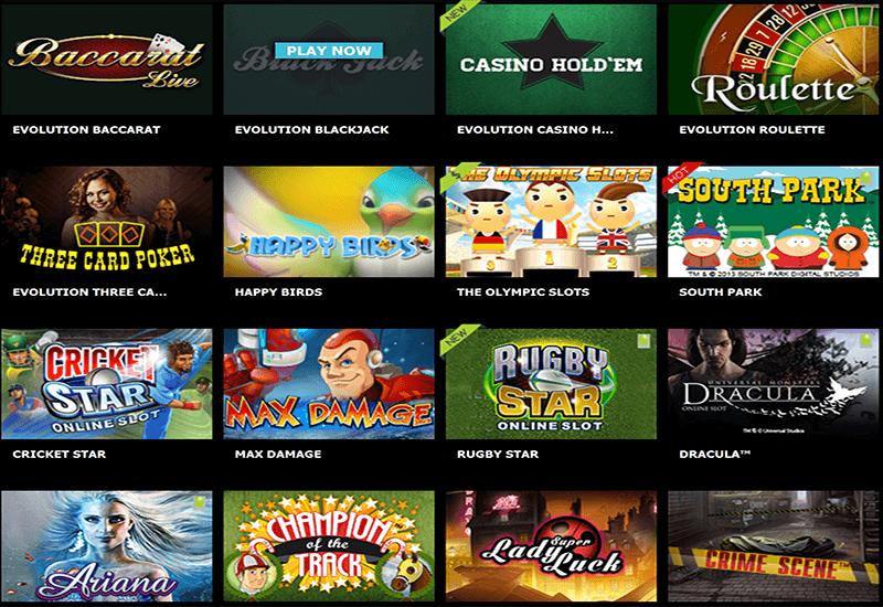Bet Cart Casino Video Slots