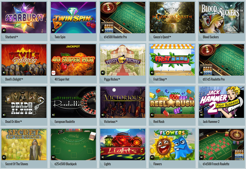 betNCatch Casino Video Slots