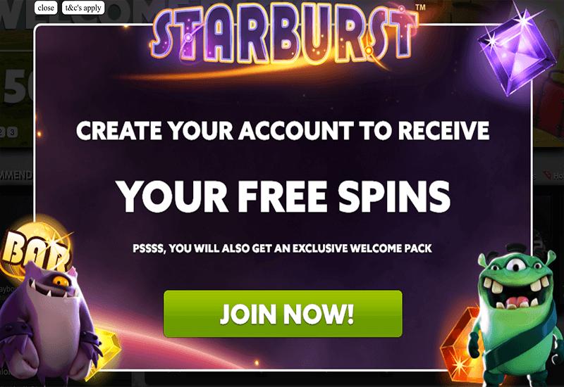 BetAt Casino Promotion