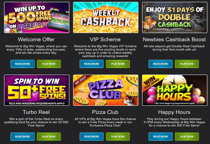 Big Win Vegas Casino Promotion