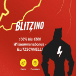 Blitzino Casino Bonus And  Review  Promotions