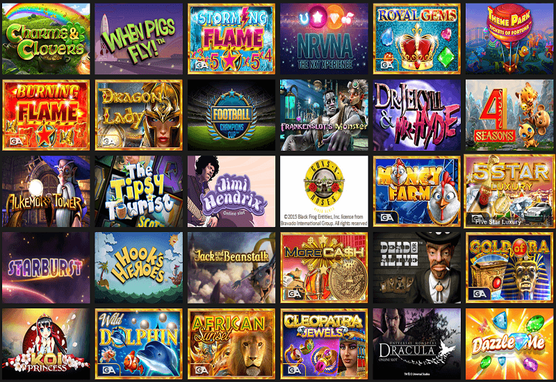 BoogieBet Casino Video Slots