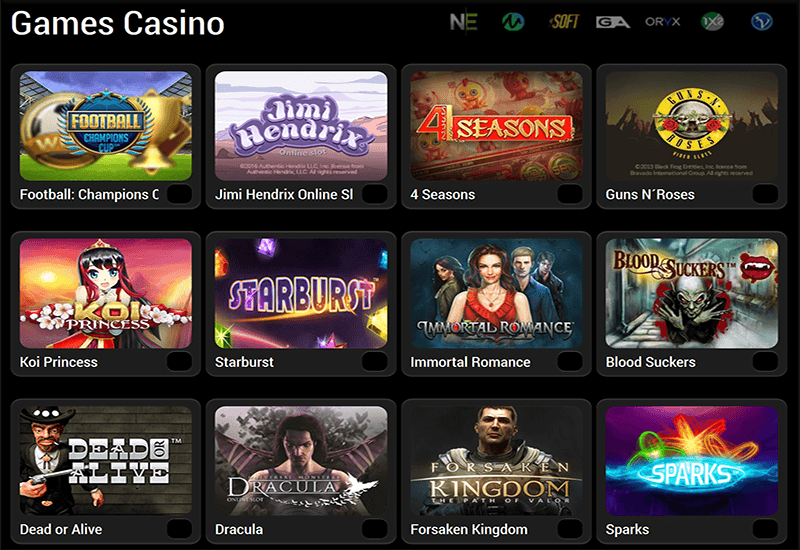 Boss Casino Video Slots