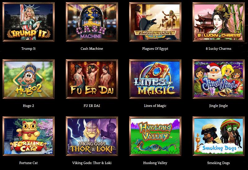 Bronze Casino Video Slots