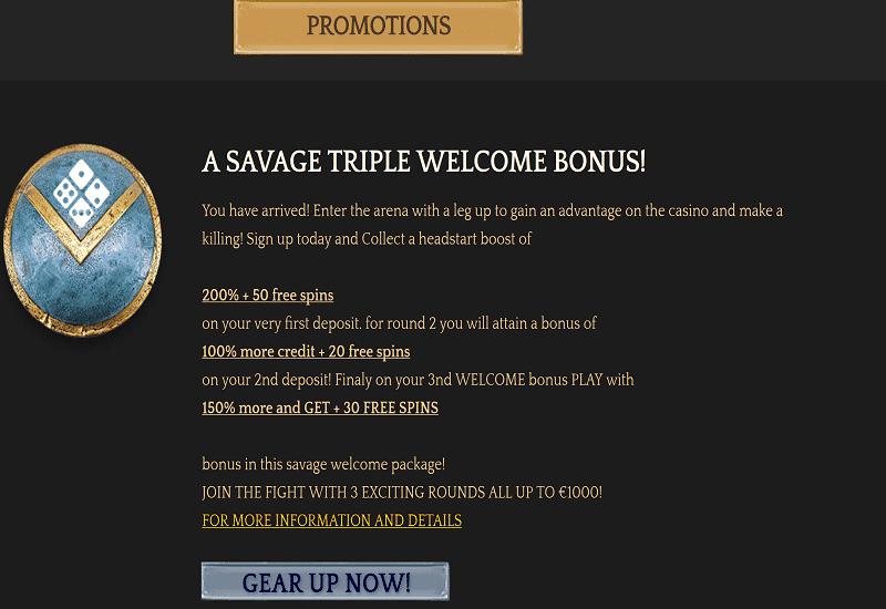 Bronze Casino Promotion