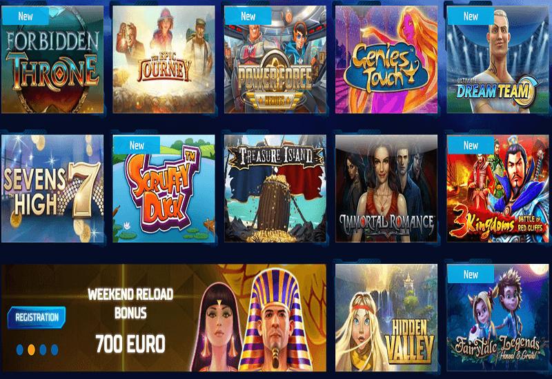Buran Casino Video Slots