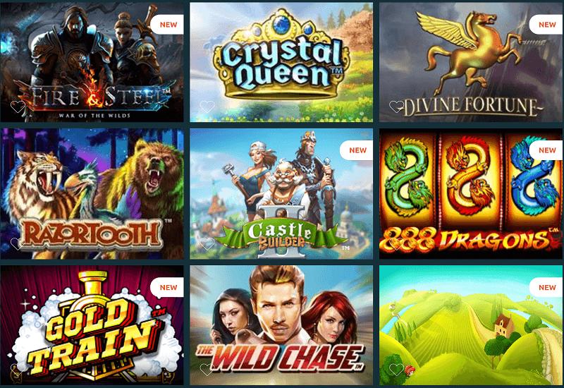 Casinia Casino Video Slots