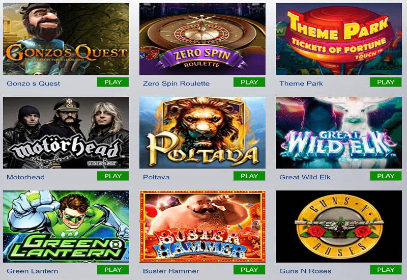 Casino1 Video Slots