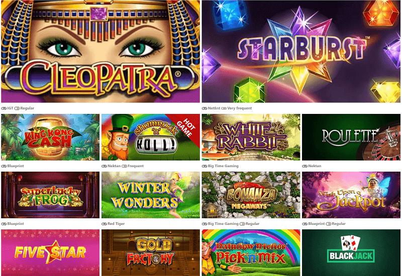 Cheeky Win Casino Video Slots