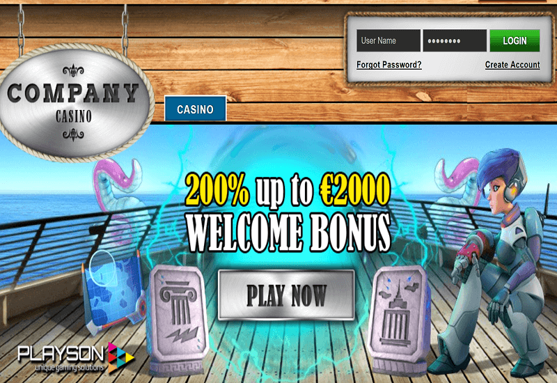 Company Casino Home Page