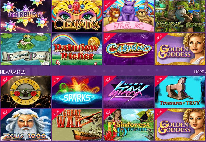 Arcade Spins Casino Video Slots