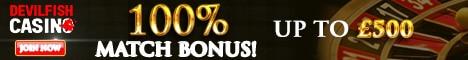 Devilfish Casino Bonus And Review