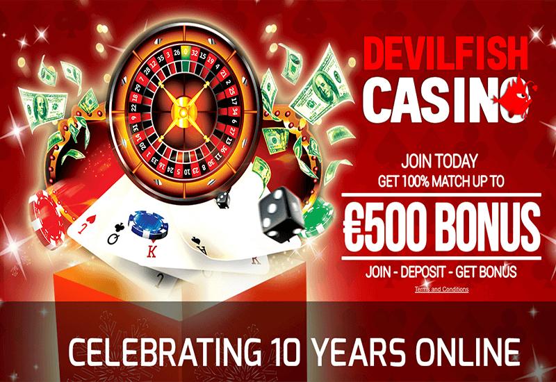 Devilfish Casino Home Page