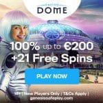 Casino Dome Review Bonus