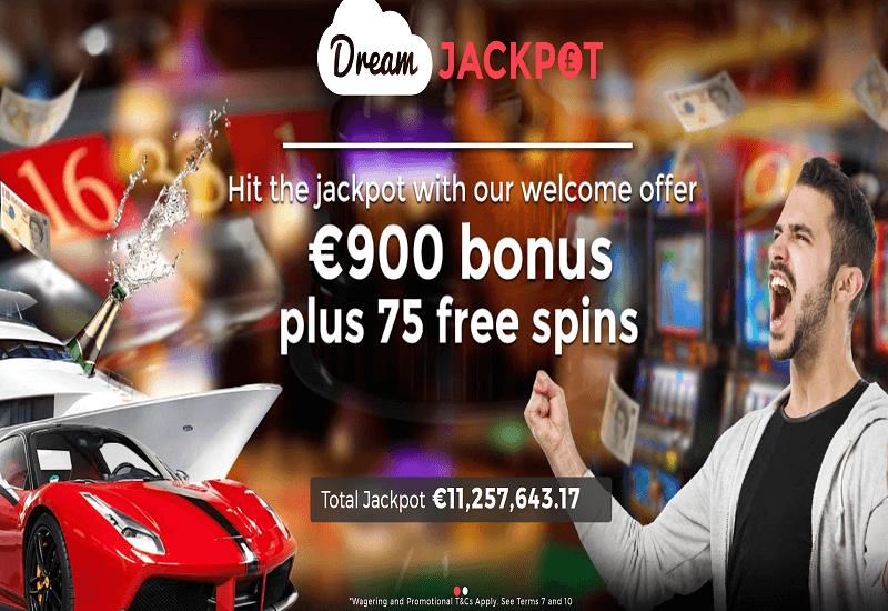 Dream Jackpot Casino Home Page