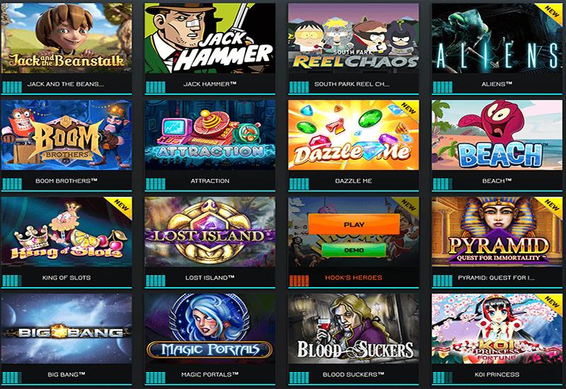 Drift Casino Video Slots