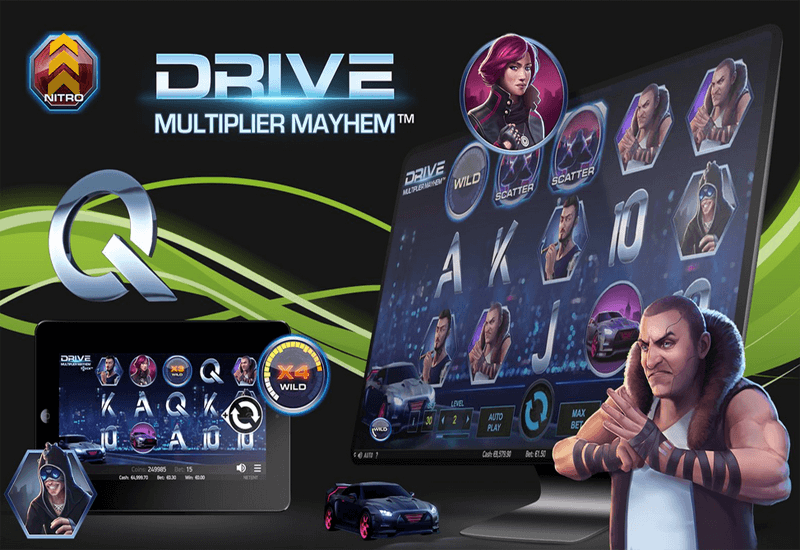 Drive: Multiplier Mayhem Video Slots
