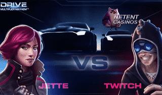 Drive: Multiplier Mayhem Video Slot from NetEnt