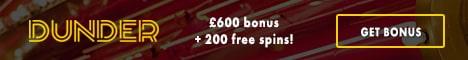 Dunder Casino Bonus And Review
