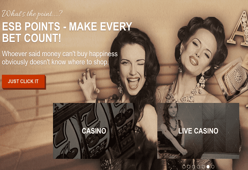 Eat Sleep Bet Casino Home Page