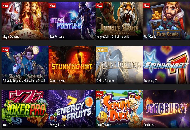 Energy Casino Video Slots