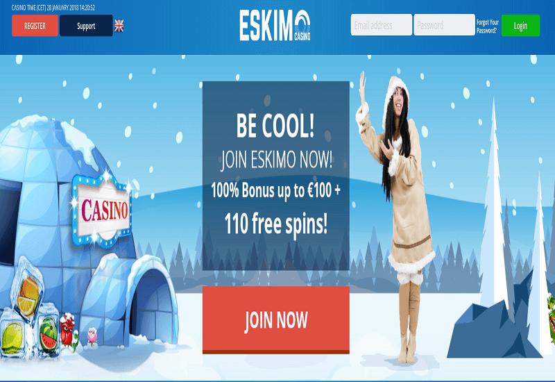 Eskimo Casino Home Page