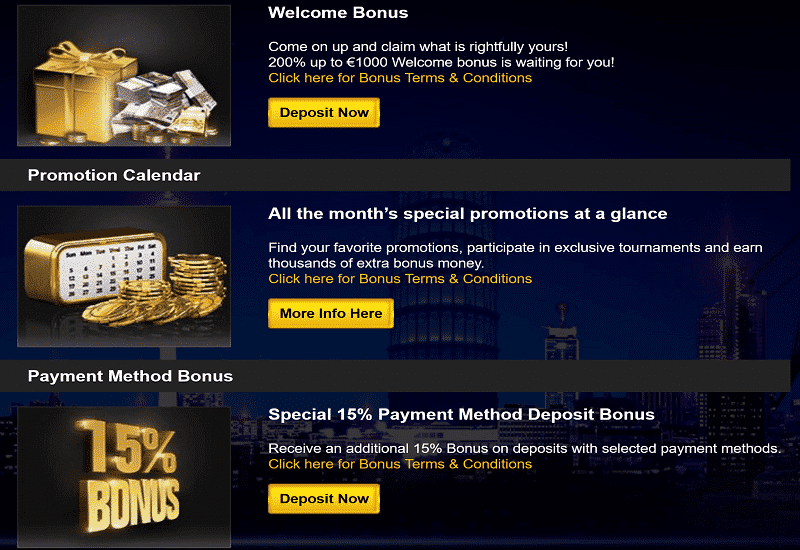 Euromoon Casino Promotion