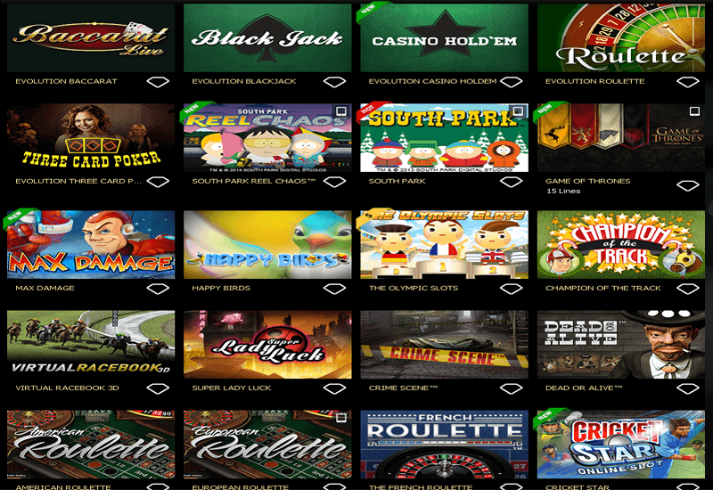Fashion Tv Casino Games