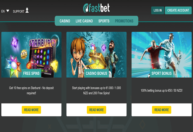 FastBet Casino Promotion