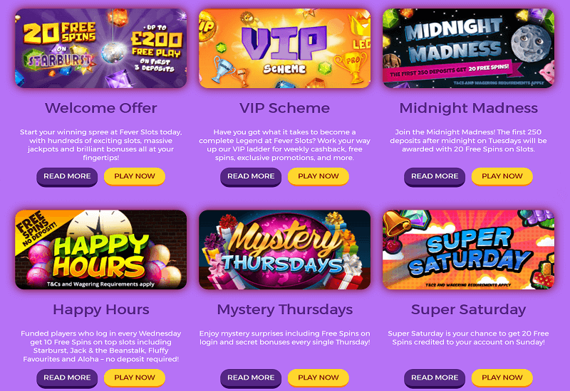Fever Slots Casino Promotion