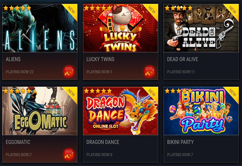 Frank Casino Video Slots