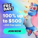 Casino FriDay! Review Bonus