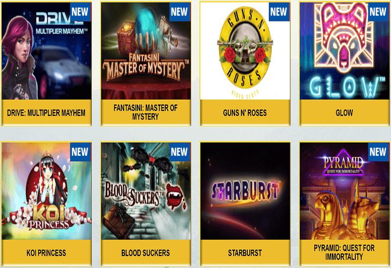 Grand Rio Casino Video Slots