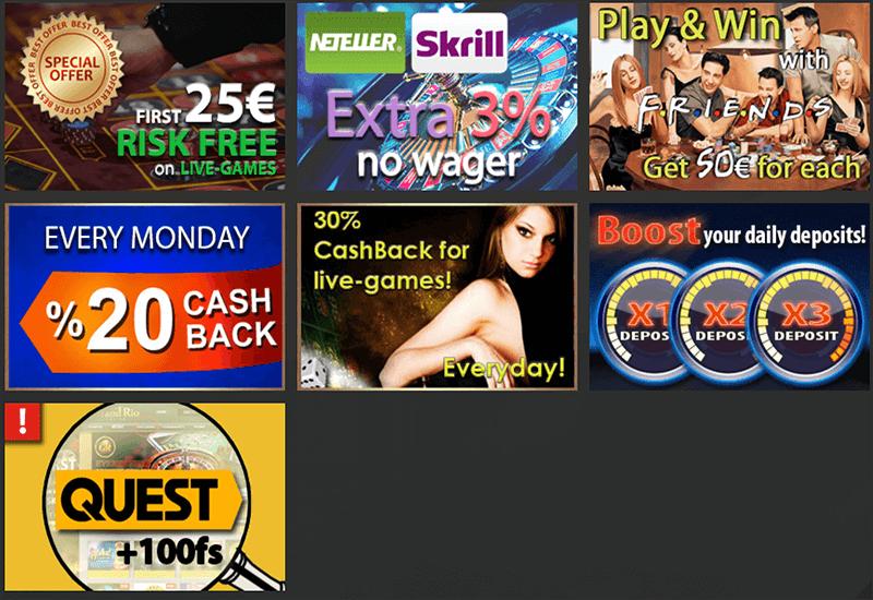 Grand Rio Casino Promotion