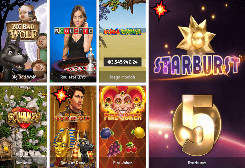 High Roller Casino Video Slots