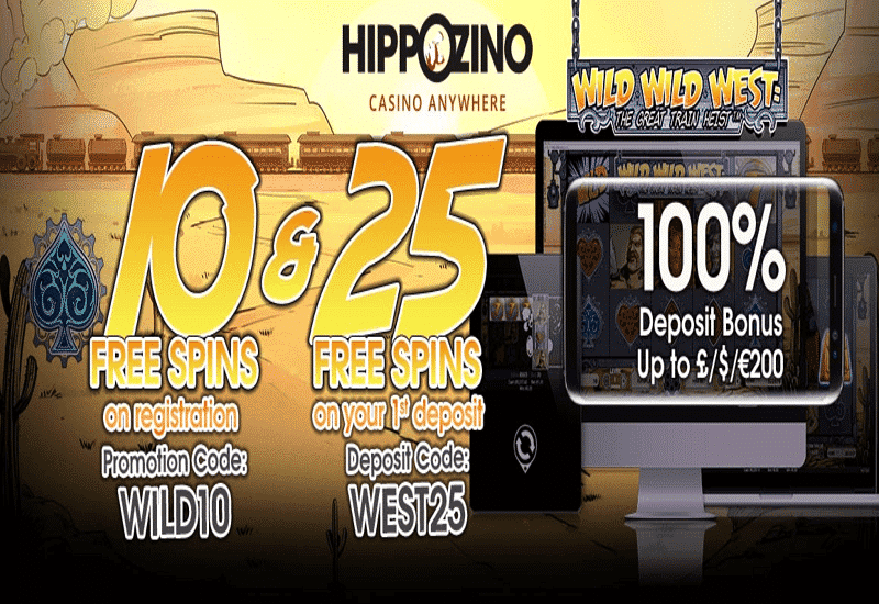 Hippozino Casino Promotion