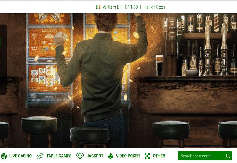 All Irish Casino Home Page