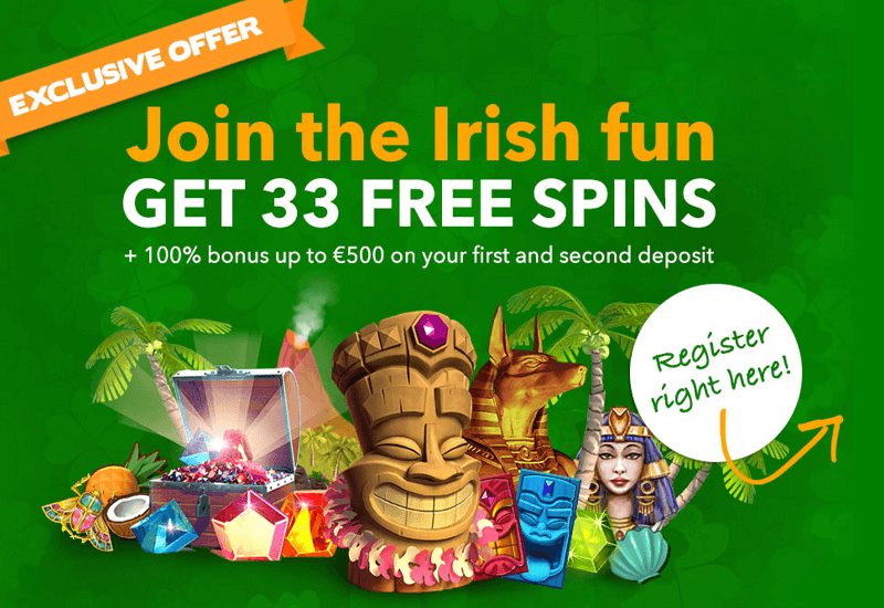 All Irish Casino Promotion