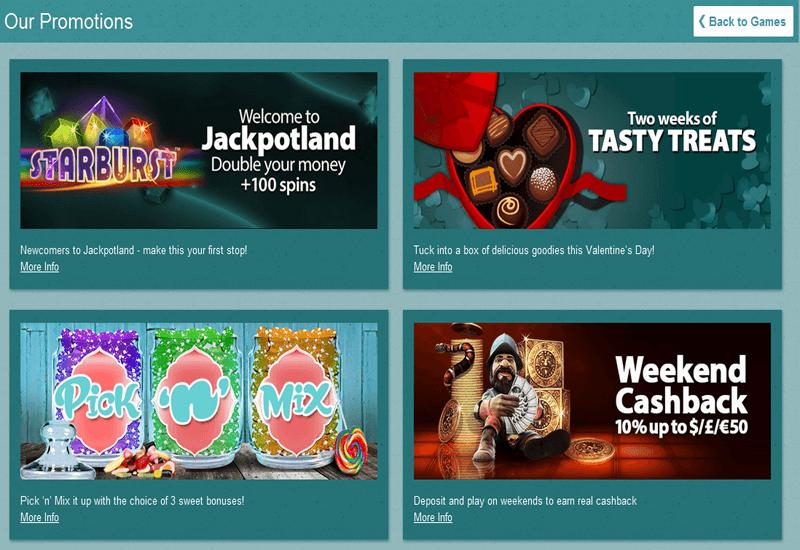 Jackpot Land Casino Promotions