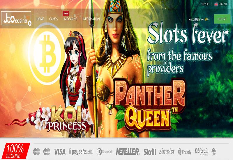Joo Casino Home Page