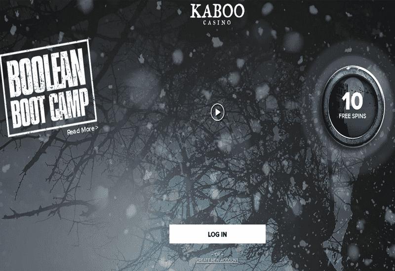 Kaboo Casino Home Page