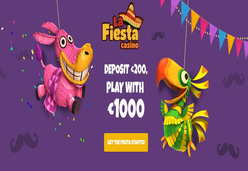 La Fiesta Casino Home Page